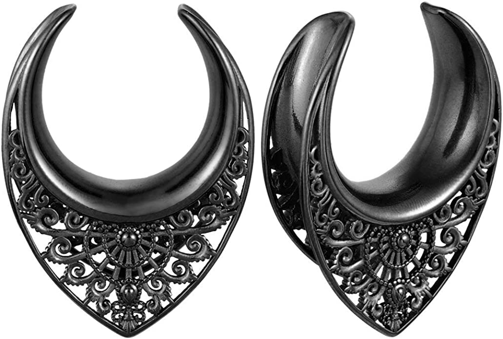 Add On large earring hooks for tunnels