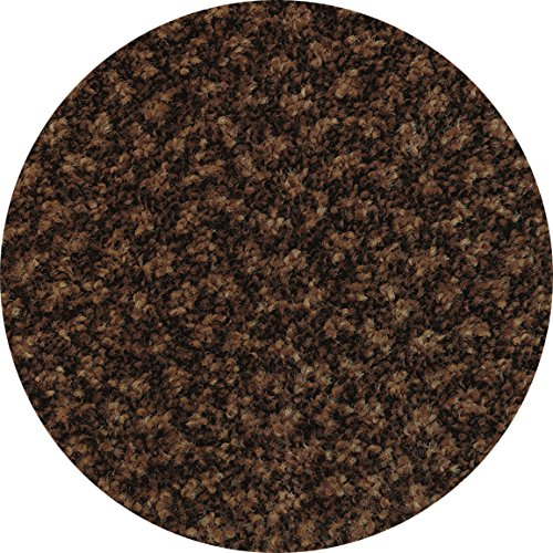 Deluxe Carpet Gripper Rubber Back Brown Heather 3' x 5' Entry Mats