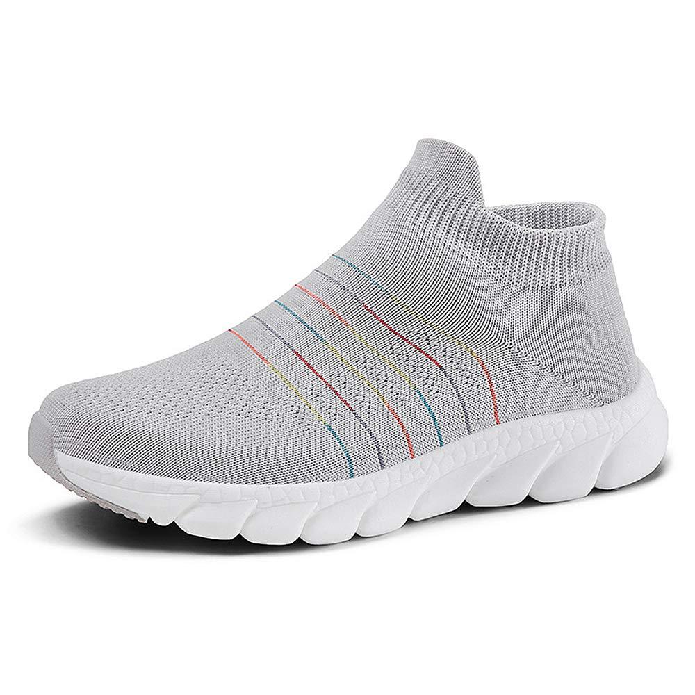 QZBAOSHU Chaussures de Course Marche pour Femme Chaussures de Sport Décontractées Respirantes...