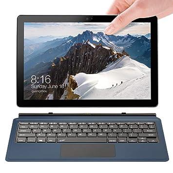 Voyo portátil portátil 10,1 Pulgadas 2 en 1 Intel Atom X5-Z8350 128GB SSD Laptop 8GB Ddr3 1200ips Licencia Windows10: Amazon.es: Electrónica