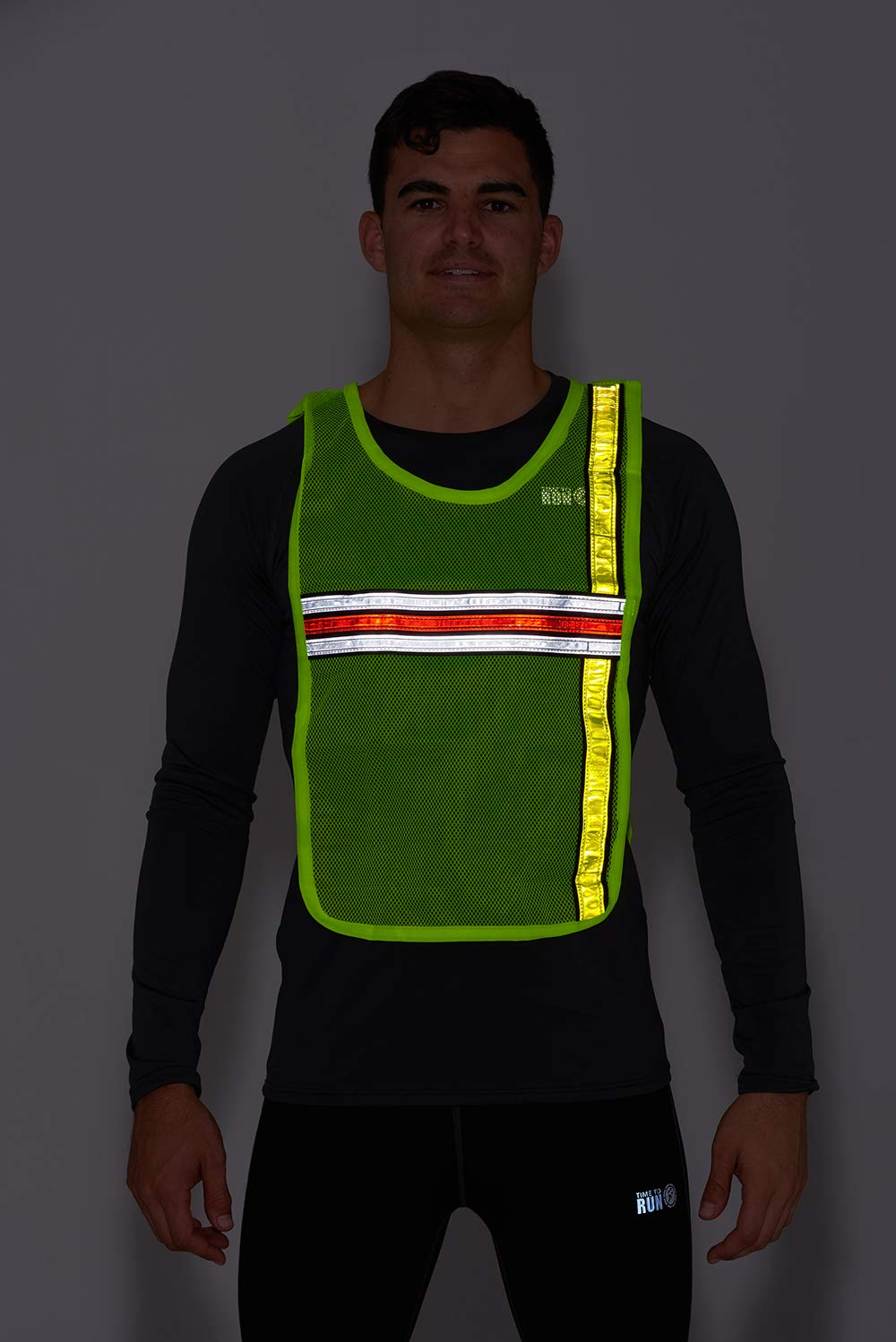 Objective Black Safety Vest High Visibility Breathable Mesh Pvc Tape Outdoor Clothes With Traditional Methods Security & Protection Safety Clothing