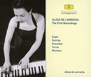 Alicia De Larrocha – The First Recordings: Alicia De Larrocha, Espla: Amazon.es: Música