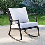 Best Coral Coast Chair Rockers - Losani All Weather Wicker Outdoor Brown Rocking Chair Review