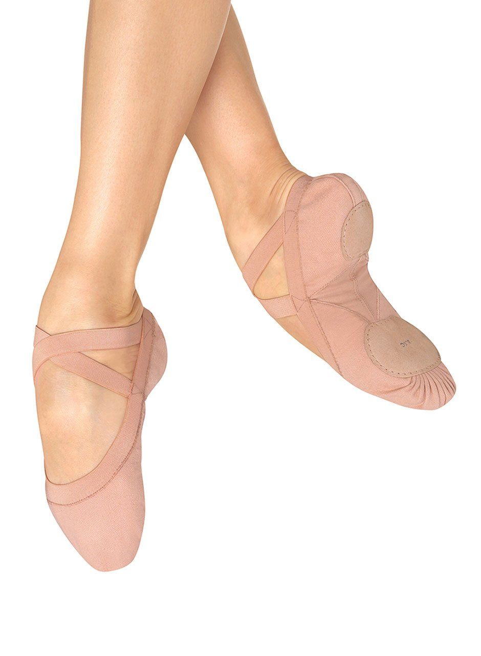 Bloch Dance Women's Pro Elastic Split Sole Canvas Ballet Slipper/Shoe S0621L