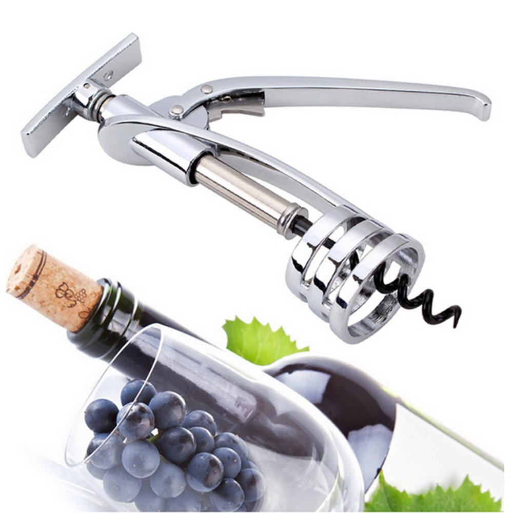 Tenyear Multifunctional One Wing Corkscrew Wine Opener All-in-one Aluminum Bottle Opener