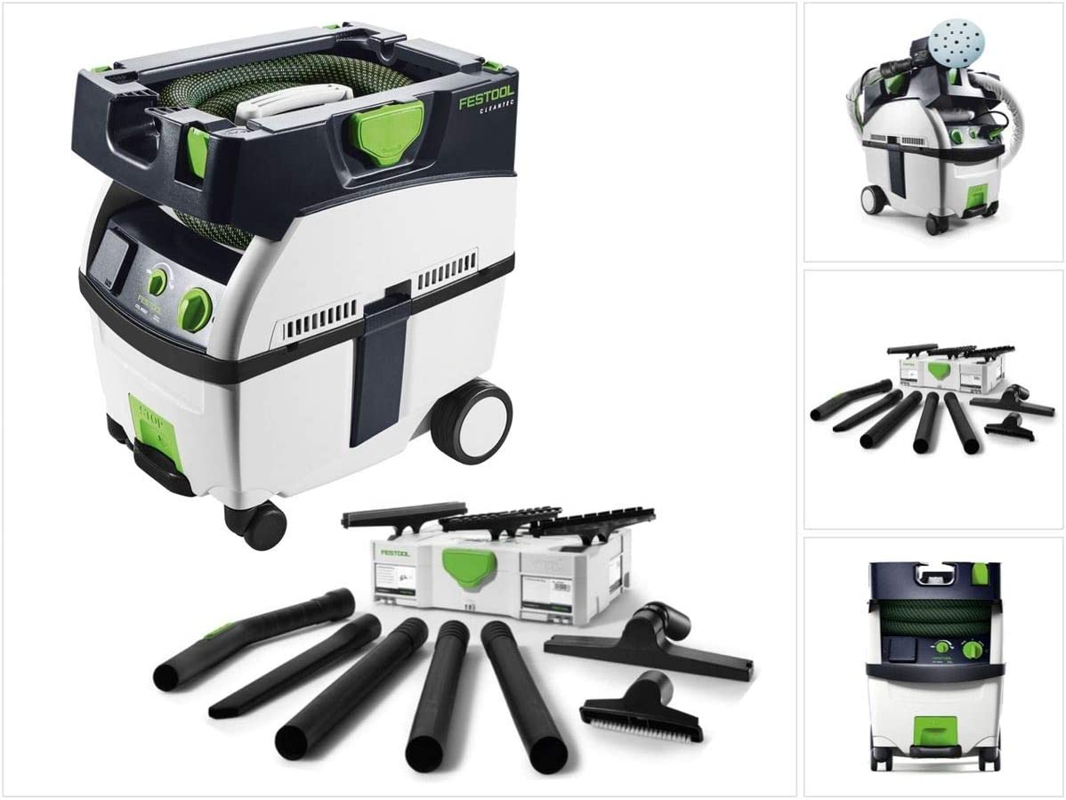 Kit de nettoyage compact Festool D 27 D 36 K-RS-Plus Systainer Festool CTL MIDI CLEANTEC Aspirateur mobile