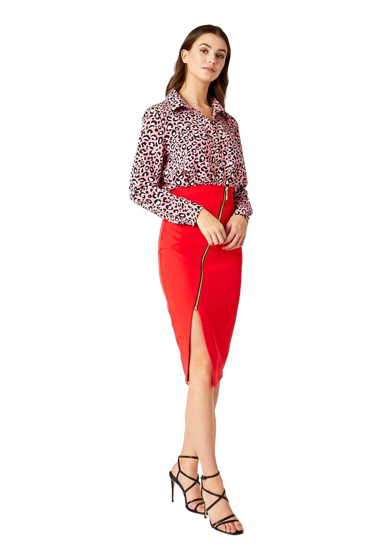 Vesper Roxanne Blus för kvinnor Rosa (rosa Ff0067)