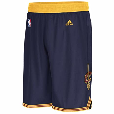 Amazon.com : Adidas Cleveland Cavaliers Navy Embroidered Swingman ...