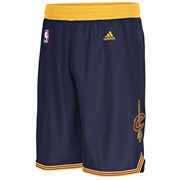Adidas Cleveland Cavaliers Navy Embroidered Swingman Basketball Shorts  (XL=38-39)