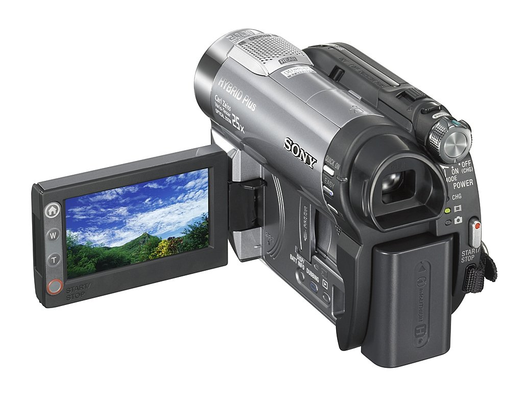 Amazon.com: Sony DCR-DVD810 1MP DVD Hybrid Plus Handycam Camcorder with 8GB  Memory & 25x Optical Zoom (Discontinued by Manufacturer): Camera & Photo