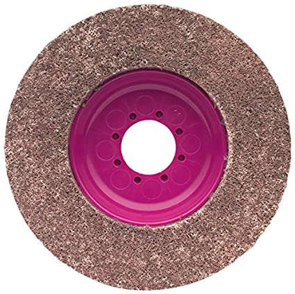 CS Unitec 96711 Magnum Fleece Top Finishing and Polishing Disc 4-1//2 Diameter 180 Grit Pack of 5 7//8 Arbor