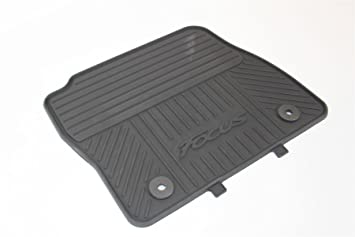 Genuine Ford Focus Front Rear Rubber Mat Set 2011 2015 Amazon Co