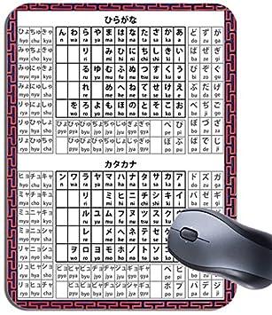 Hiragana katakana japanese alphabet mouse mat language learning hiragana katakana japanese alphabet mouse mat language learning mouse pad altavistaventures Images