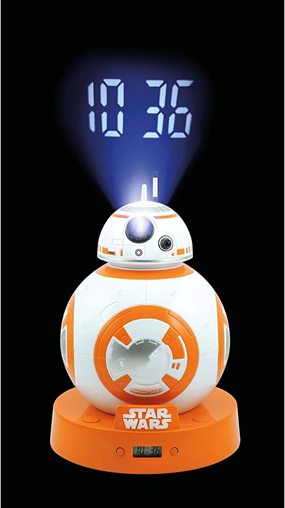 Joy Toy Star Wars - Reloj Despertador Digital con LCD y proyección ...