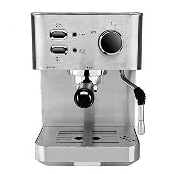 DSKJ Maquina De Cafe Cafetera Semi-Automática De Café Exprés.: Amazon.es: Hogar