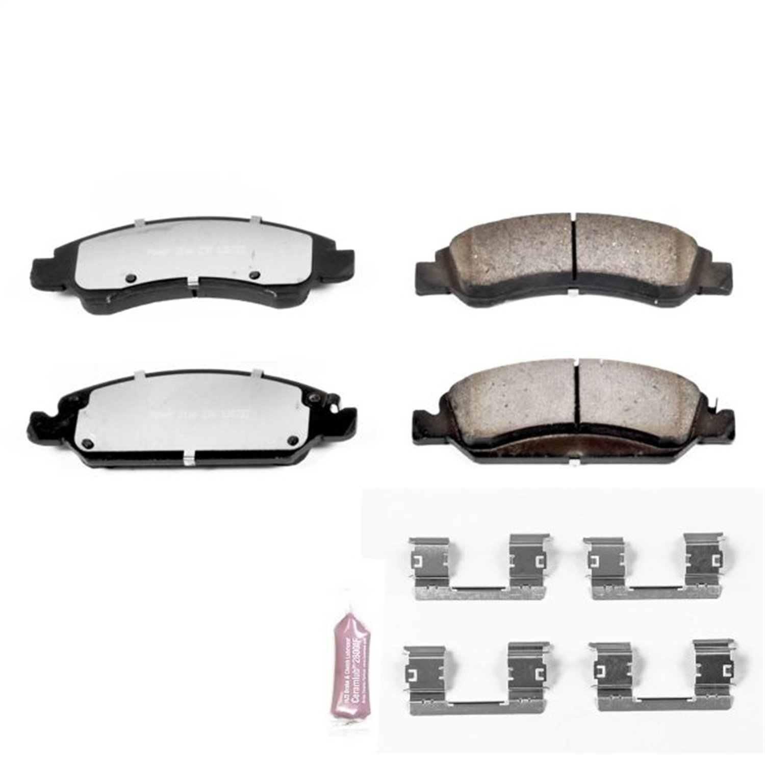 1. Power Stop Z36-1363 Front Z36 Truck and Tow Brake Pads