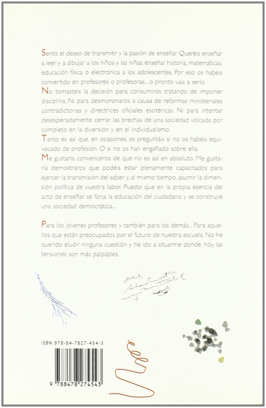Carta a Un Joven Profesor (Spanish Edition): Philippe ...