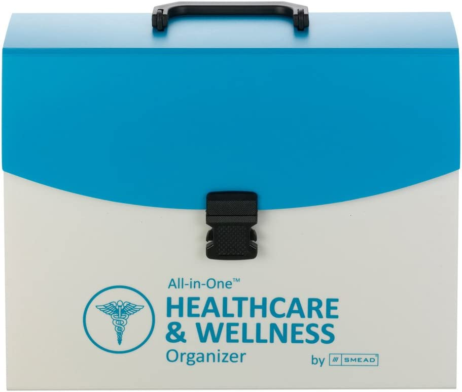 Smead All-in-One Healthcare & Wellness Organizer