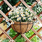 Sunm-Boutique-Dolicer-Artificial-Daisy-Bouquet-Lifelike-Silky-Daisies-Artificial-Gerber-Daisy-Flowers-Artificial-Flowers-Outdoor-UV-Resistant-Daisy-for-Wedding-Party-Balcony-Home-Decor