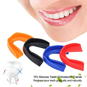 Amazon com : 1Pc Silicone Tooth Orthodontic Dental Appliance