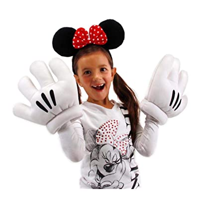 elope Disney's Minnie Mouse Ears & Gloves Set: Clothing