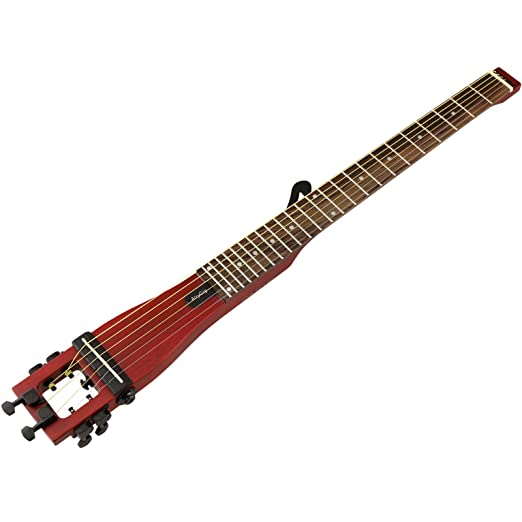 D2D Anygig Guitarra acústica Cereza 6 Cuerdas con Bolsa portátil ...