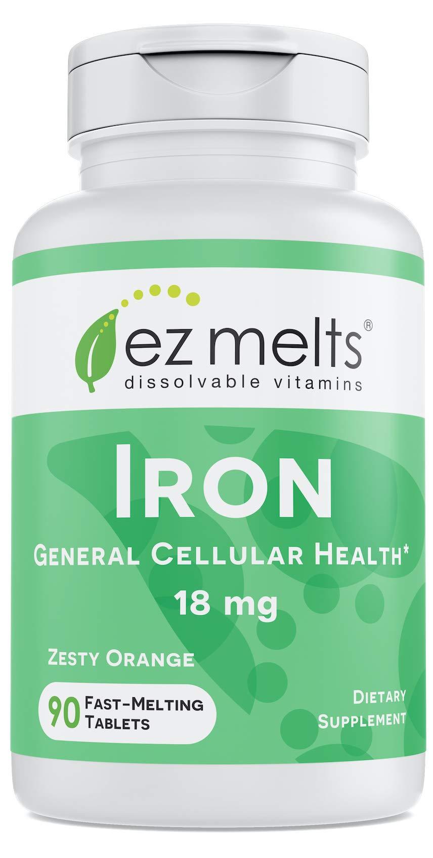 EZ Melts Iron as Elemental Iron