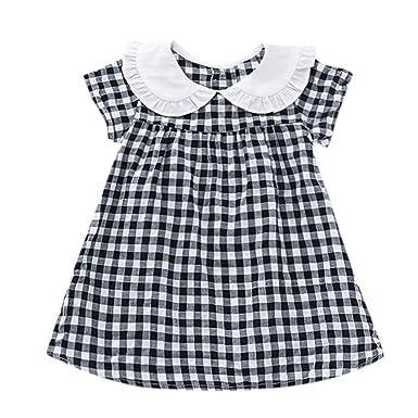 de7e0aa3ccec Amazon.com  Kasien Toddler Baby Girls Dress