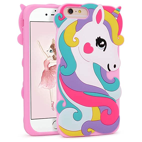 new concept 775ba de588 Vivid Unicorn Case for iPhone 8 Plus /7 Plus/6 Plus/6S Plus+ 5.5