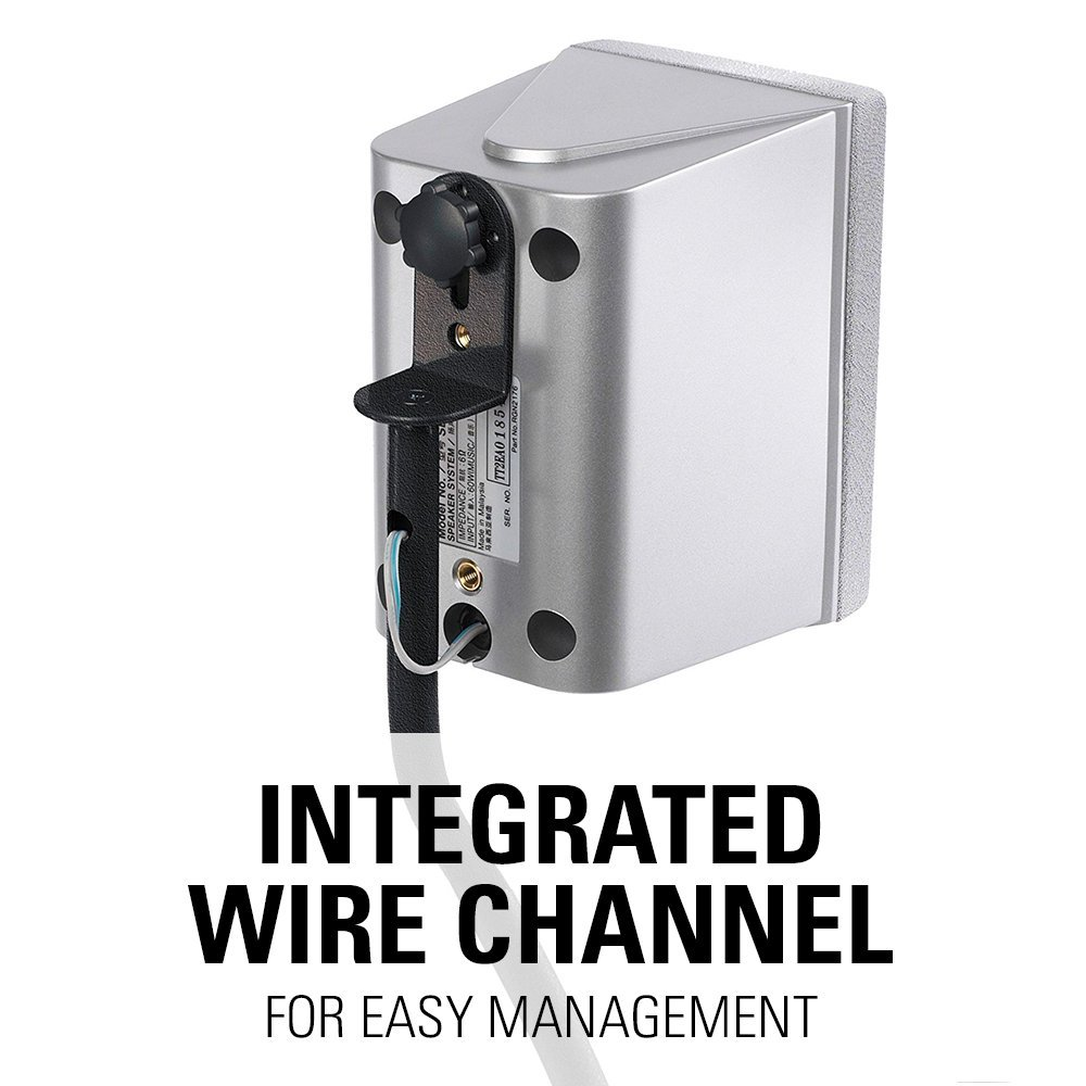 Built-In Wire Channel