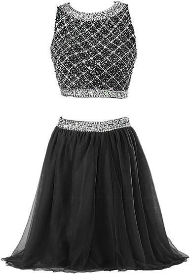 Callmelady Two Piece Homecoming Dresses