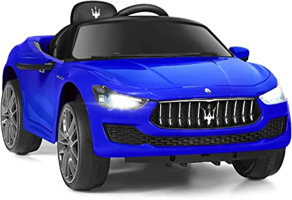 Licensed Maserati Gbili 12V Rechargeable Battery Powered Electric ...