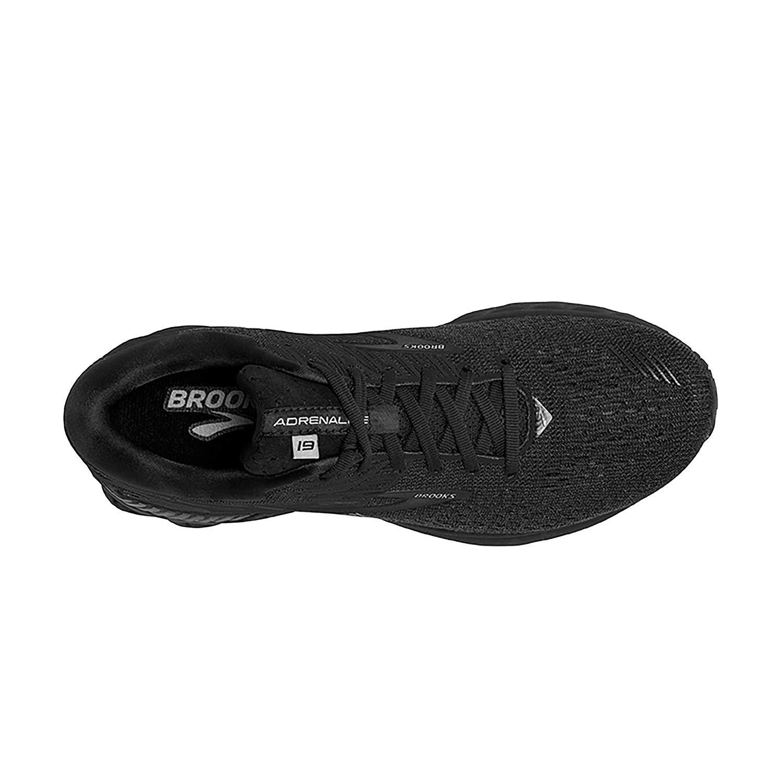 Black 15 Wide Brooks Men's Adrenaline GTS 19 B Width Running shoes