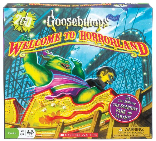 Fundex Ideal Goosebumps Welcome To Horrorland Board for sale  Delivered anywhere in Canada