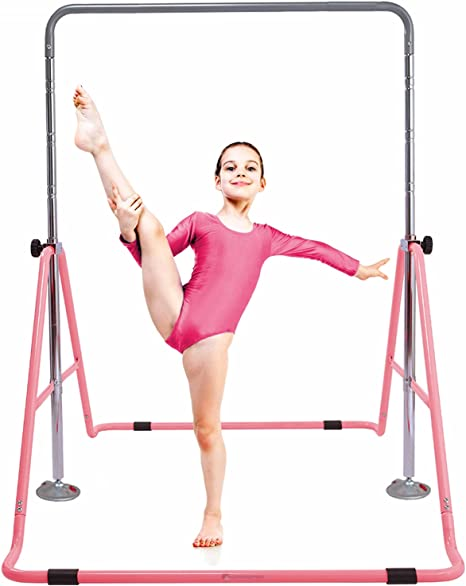 Long Short RED Outdoor Exercise Climbing Bars Pull-up Parallel bars Gymnastics