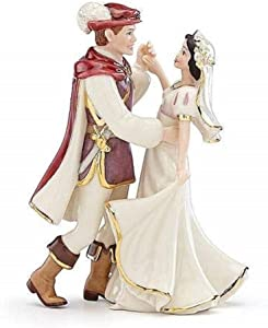 Lenox Snow White and Prince Figurine, 0.45 LB, Ivory