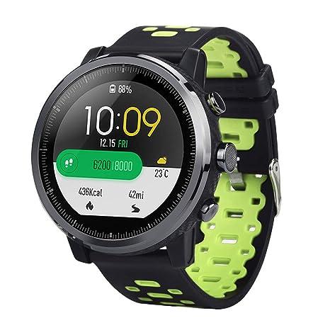 GUCIStyle Repuesto de Correa Reloj de Silicona para HUAMI Amazfit Stratos Smart Watch 2/2S
