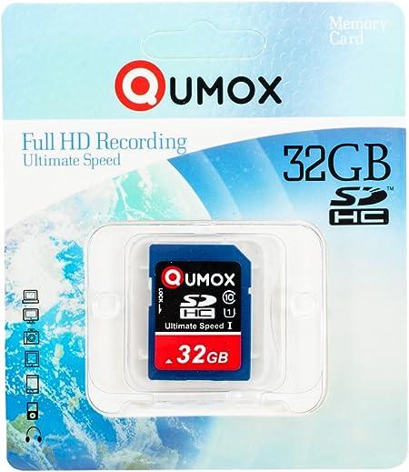 Qumox 32gb Sdhc Speicherkarte Class 10 Uhs I Grade 1 Computer Zubehör