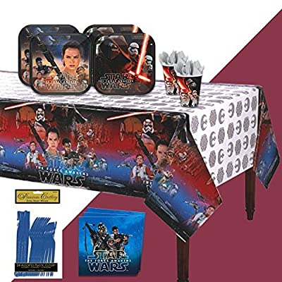 BirthdayExpress Star Wars VII - The Force Awakens Party Bundle for 16