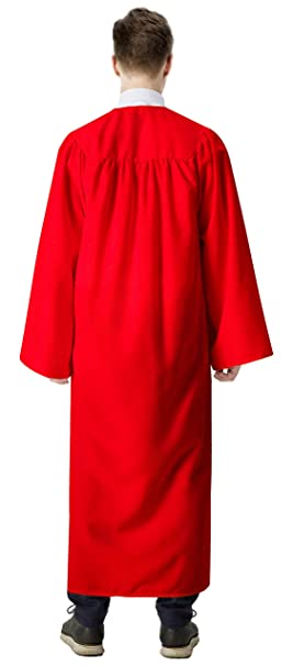 Amazon.com: IvyRobes Unisex Adults Confirmation Robe X-Large Red 54: Clothing