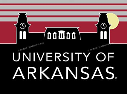 Image Unavailable. Image not available for. Color  Prints Charming College  Uscape 12x16 Arkansas Razorbacks Retro ... 02b04e1fb