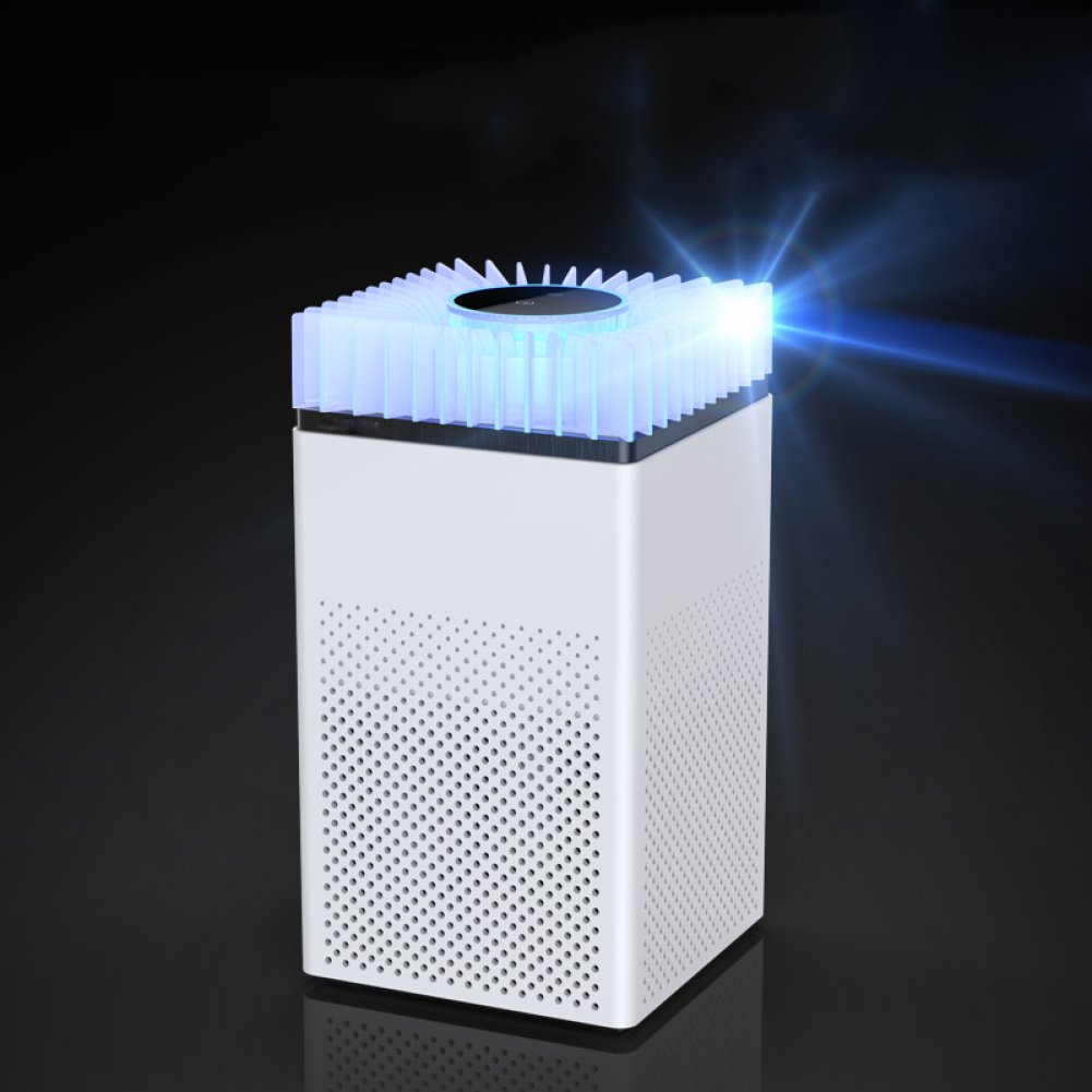 White USB Silent Mosquito Insects Trap Killer UV Light Traps, Covering Approximately 500-1000 Square Feet,White