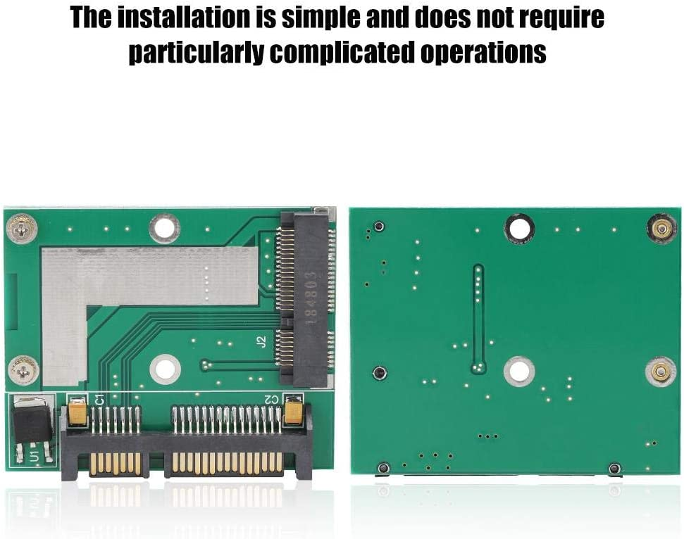 Diyeeni Riser Card Mini PCI-E SSD to Harf Height 2.5inch Interface//SATA 3.0 Adapter Converter Riser Card