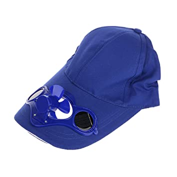 Summer Sport Outdoor Hat Cap with Solar Sun Power Cool Fan For SY