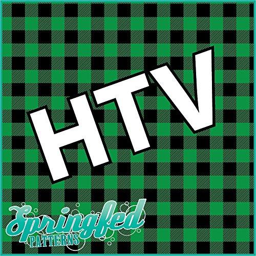 GREEN BUFFALO PLAID PATTERN HTV Heat Transfer Vinyl