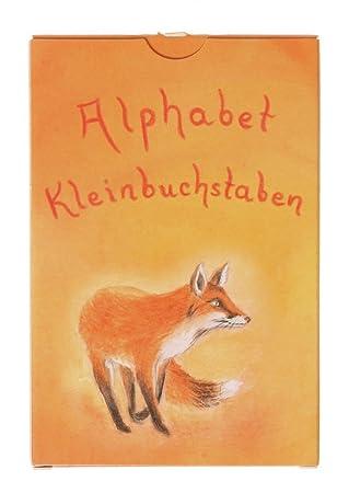 Letras minisculas del alfabeto tarjetas, 48 hojas de Grimm: Amazon ...