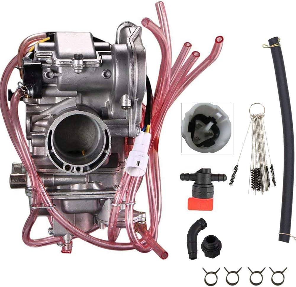 CQYD Motorcycle Carburetor for Honda CRF250R 2004-05,CRF250X 2004-13 Also fits Kawasaki KX250F 2004-2010