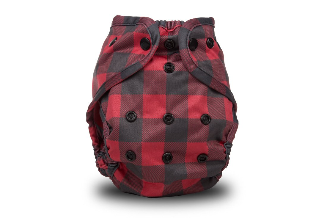 Buttons Cloth Diaper Cover Lumberjack One Size by Buttons Diapers
