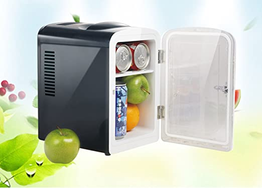 KY Mini Nevera Refrigerador para automóvil de 4.5L, Mini refrigerador, Doble frío y Caliente, Caja de calefacción de Ahorro de energía Frigorífico: Amazon.es: Jardín