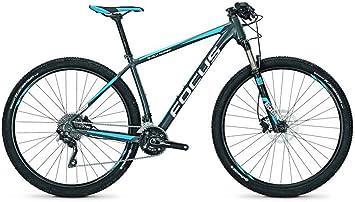 Focus Mountain Bike Black Forest Pro 29 20 g 29 , Color slategrey, tamaño 47, tamaño de Rueda 29.00 Inches: Amazon.es: Deportes y aire libre